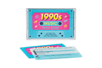 Music Trivia Game - 1980s, 1990s or 2000s - 1990s