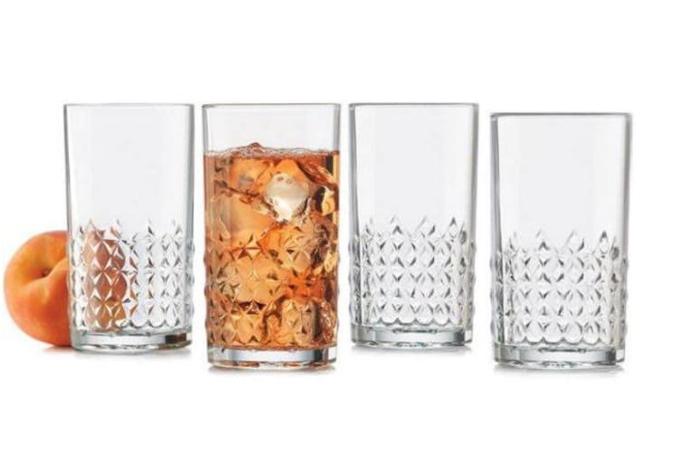 Libbey Harlow High Ball Glass Set of 4