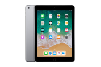 Apple iPad 2018 (128GB, Wi-Fi, Space Grey)