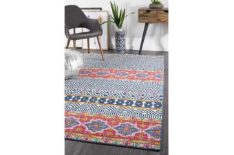 Amelia Multi Boho Durable Rug 290x200cm