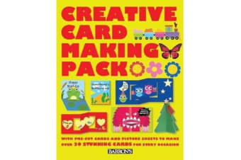 Creative Card Making Pack - With Pre-Cut Cards and Picture Sheets to Make Over 30 Stunning Cards for Every Occasion