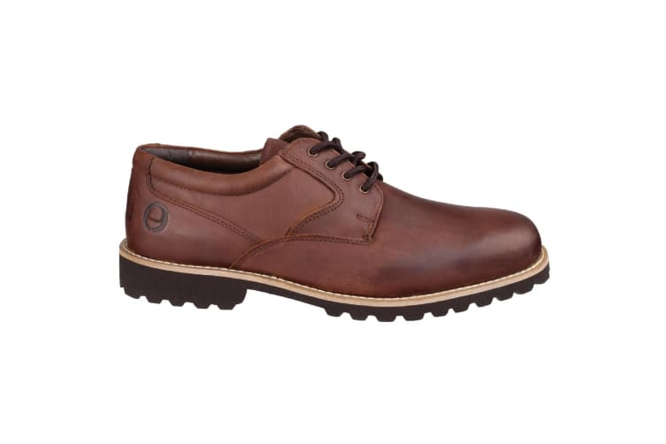Cotswold Mens Tuffley Lace Up Leather Shoes (Brown) (6 UK)