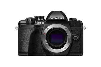 Olympus OM-D E-M10 Mark III Mirrorless Camera - Body Only (Black)