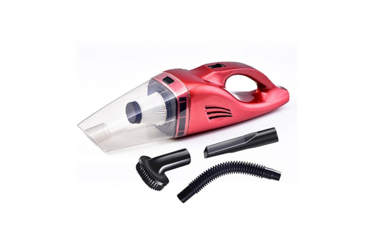 Wireless Car Vacuum Cleaner Portable & Dry Rechargeable Battery 12V Black Wireless