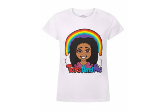 Tiana Toys And Me Childrens/Girls Official Logo T-Shirt (White) (Years (3-4))