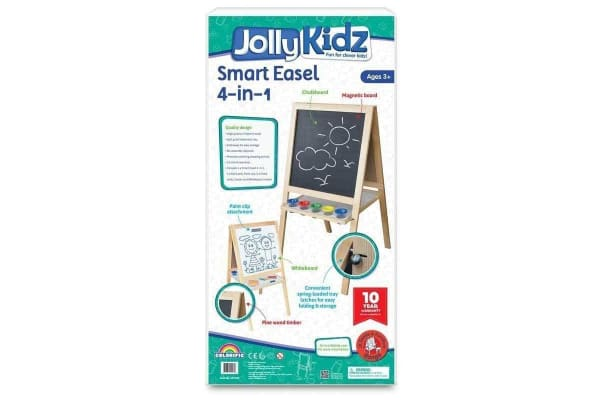 Jolly Kidz Smart Easel 4 in 1