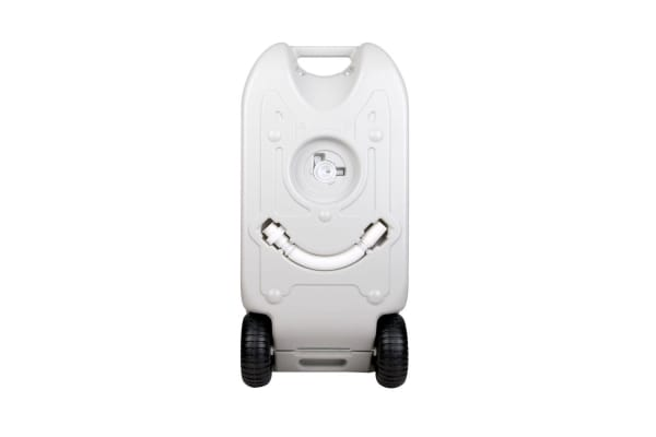 40L Portable Wheel Water Tank (Grey)