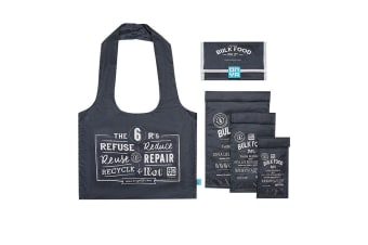 Onya Reusable Bulk Food Starter Set Charcoal