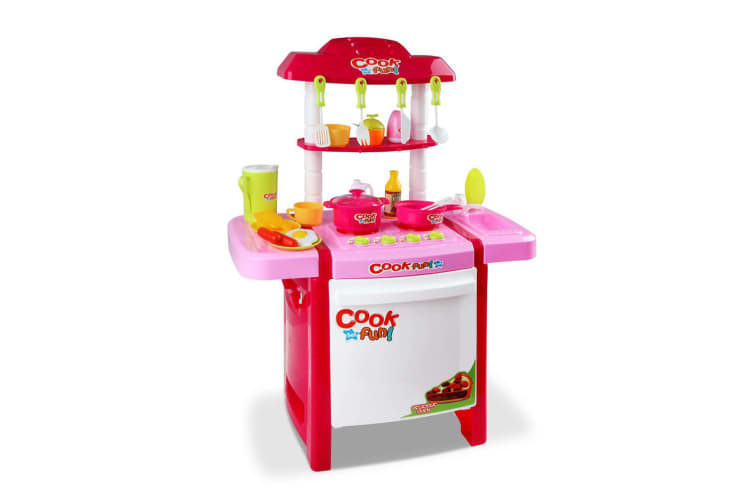 00482c700973 Keezi Kids Mini Chef Cookware Set - Pink - Kogan.com