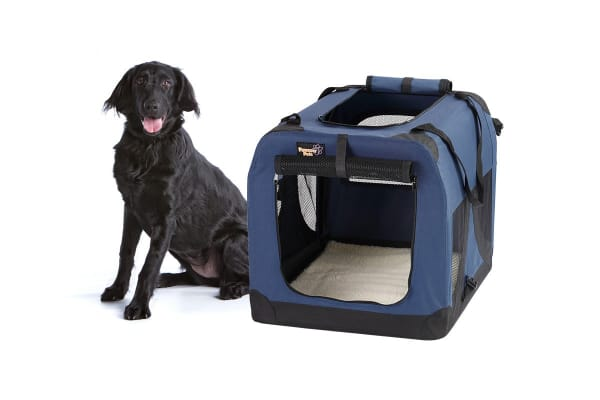 pawever pets portable soft pet dog crate xxx large - Soft Dog Crates