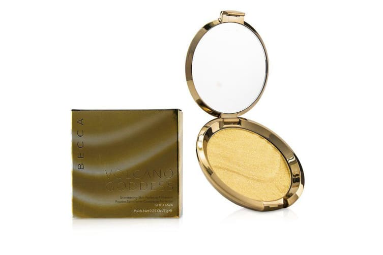 Becca Shimmering Skin Perfector Pressed Powder - # Gold Lava 7g
