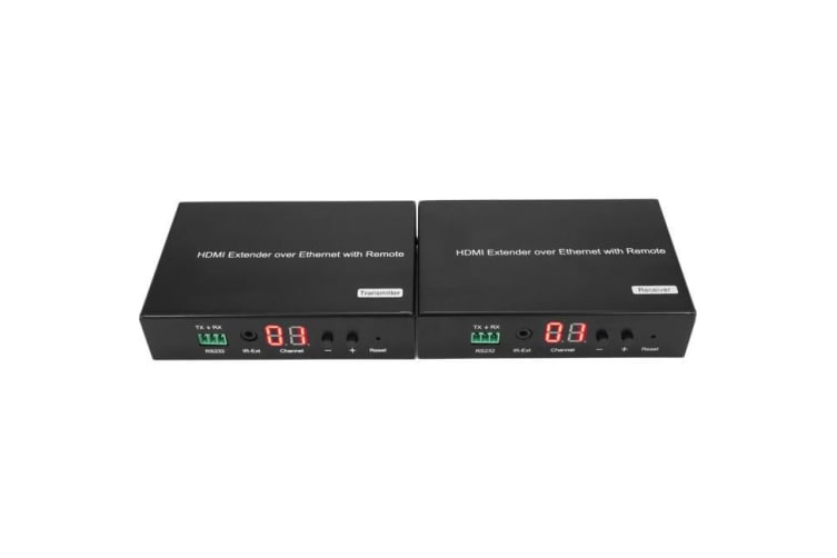 HDMI OVER IP EXTENDER WITH POE