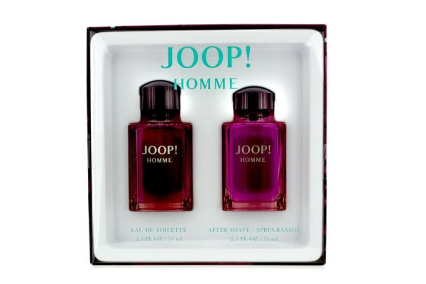 Joop Homme Coffret: Eau De Toilette Spray 75ml/ 2.5oz + After Shave Splash 75ml/2.5oz (2pcs)