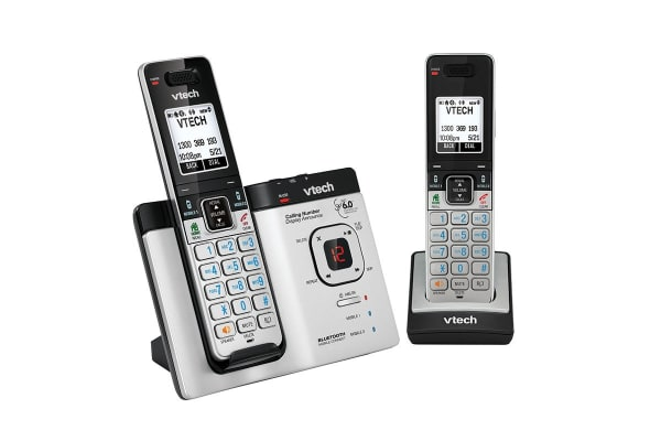 Vtech 15750 Twin Dect6.0 Cordless Phone With Bluetooth Mobileconnect
