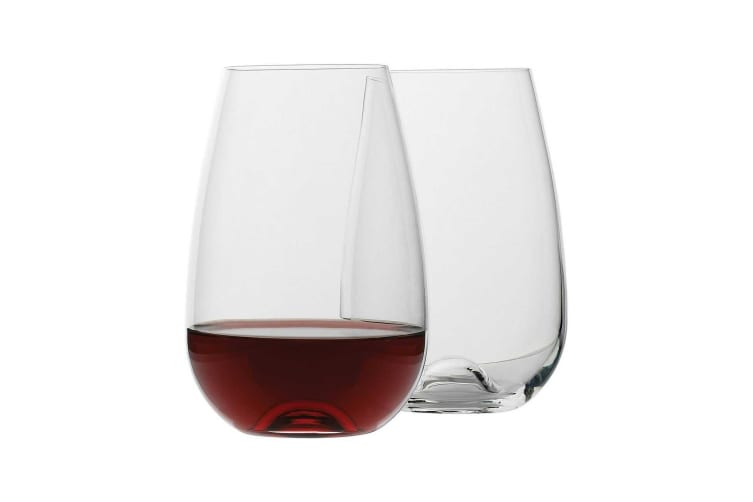 Ecology Red Wine Glasses Stemless 660ml Set of 4