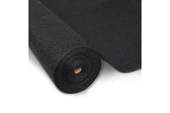 30M Shade Cloth Roll -3.66M x 30M (Black)