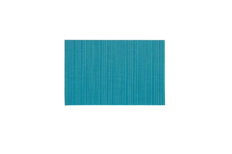Japanese Teslin Placemat Environmental Solid Color Pvc Western Table Mat Blue Green