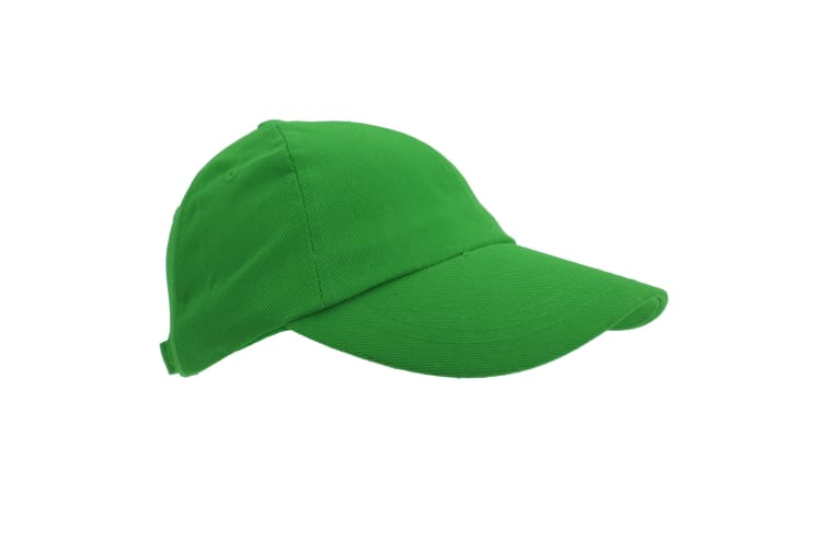 Result Unisex Heavy Cotton Premium Pro-Style Baseball Cap (Pack of 2) (Bottle Green) (One Size)