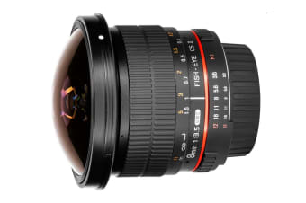 Samyang 8mm f/3.5 UMC Fish-eye CS II (Nikon Mount)