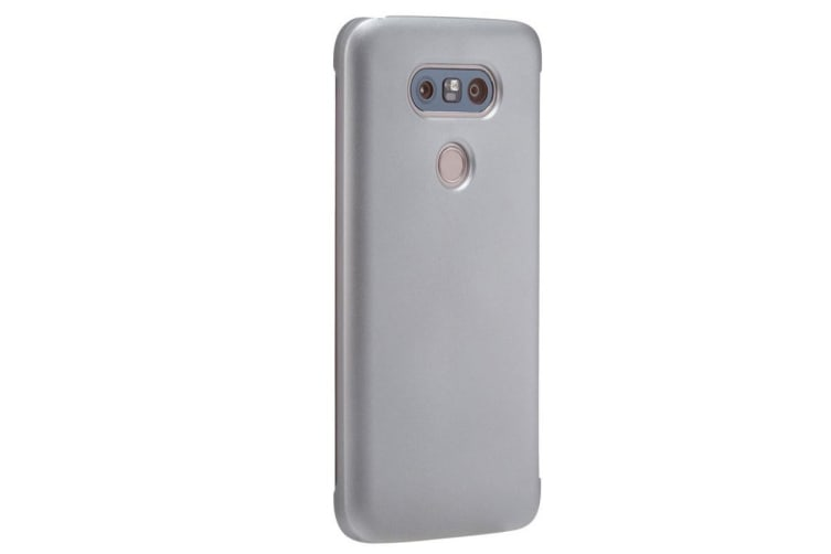 VOIA CleanUp Folio Case for LG G5 - Silver