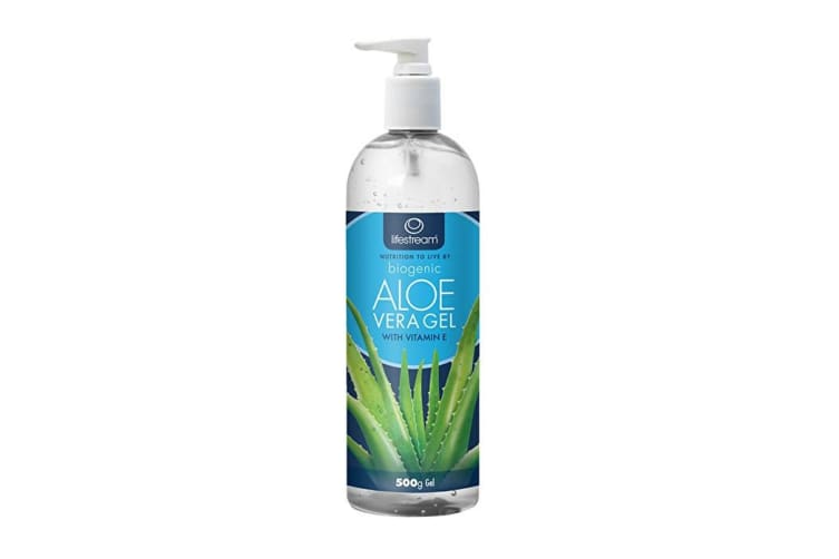 LifeStream Biogenic Aloe Vera Gel with Vitamin E 500g Pump