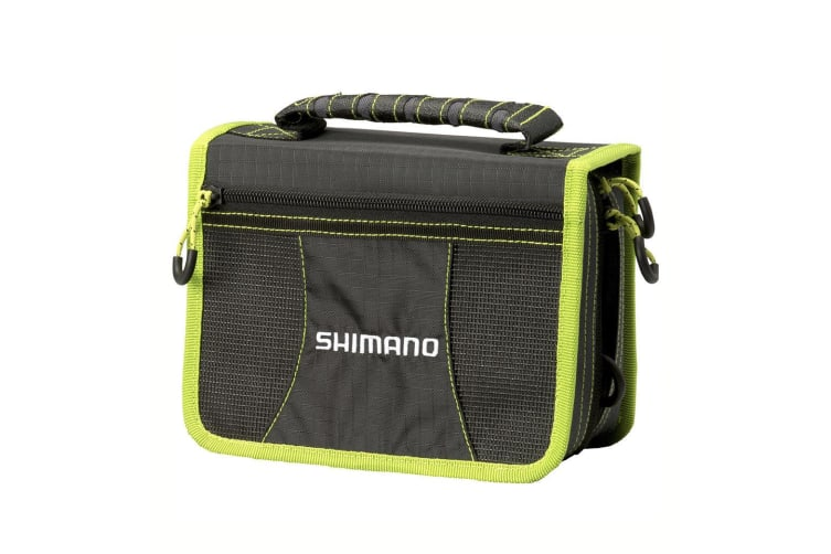 Shimano Double Sided Tackle Wallet with 10 Zip Lock Sleeves and Tackle Box