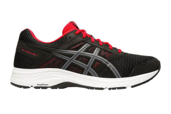 ASICS Men's Gel-Contend 5 Running Shoe (Black/Metropolis, Size 9.5 US)