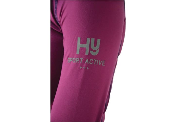 HyFASHION Womens/Ladies Sport Active + Base Layer (Port Royal) (L)