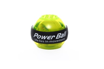Wrist Trainer Powerball Arm Strengthener Essential Gyroscopic Wrist And Forearm Exerciser Ball Green