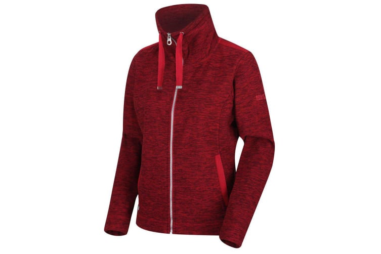 Regatta Womens/Ladies Zyranda Fleece (Delhi Red) (12 UK)