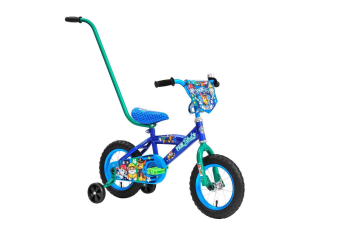 Paw Patrol Kids 30cm Bike with Handle