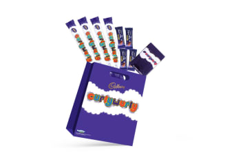 8pc Cadbury Curly Wurly Kids Sweets Showbag w/Dairy Milk Chocolates/Playing Card
