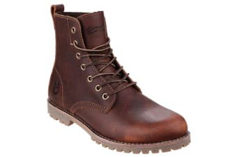 Cotswold Elm Womens Boots (Brown)