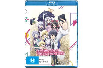 In Another World With My Smartphone Complete Series Box Set Blu-ray Region B