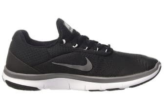 Nike Men's Free Trainer V7 Shoe (Black/White/Dark Grey, Size 9.5)
