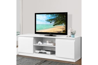 TV Cabinet Entertainment Unit Stand Side Storage Lowline LCD LED