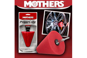 MOTHERS POWER CONE POWERCONE TAPERED CURVED SURFACE WHEEL POLISHING FOAM TOOL