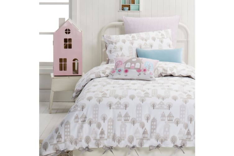 100% Cotton Kids Quilt Cover Set Priya Double by Designers Choice