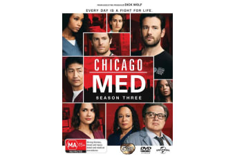 Chicago Med Season 3 Box Set DVD Region 4