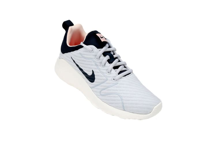 Nike Women's Kaishi 2.0 SE Running Shoes (Pure Platinum/Armory/Navy Sail, Size 7 US)