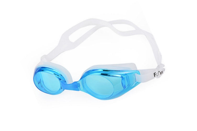 Style Anti-Fog Uv Protection No Leaking Swimming Goggles For Men Women Lake Blue
