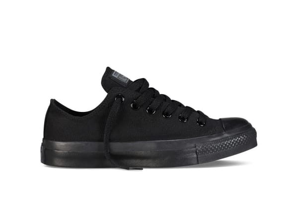 Converse Chuck Taylor All Star Ox Lo (Black Mono, US Mens 5.5 / US Womens 7.5)