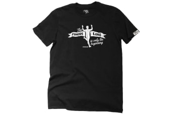 Personal Best Running Tee - Finish Line Mens T-Shirt