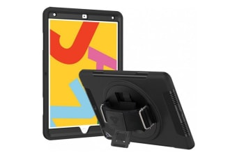 Armor-X (RIN Series ) Ultra 3 Layers Rainproof Shockproof Rugged Case with Hand Strap for iPad 10.2""