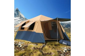 Instant Up Camping Tent 8 Person Pop up Tents Swag Family Hiking