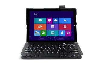 Gecko Keyboard Folio Case Cover For Surface 3 Removable Bluetooth Keyboard Black