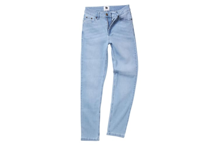 AWDis So Denim Womens/Ladies Katy Straight Leg Jeans (Light Wash) (18/R)