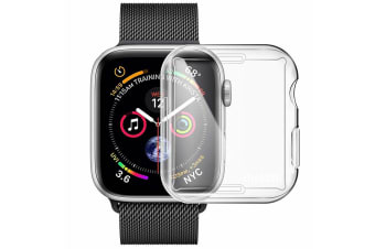 Generic All-around TPU Case For Apple Watch Series 4 40mm - Transparent