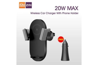 Xiaomi ZMI Wireless Car Charger with Phone Holder 20W Fast Charging For Mobile Phone For Huawei iPhone iPad