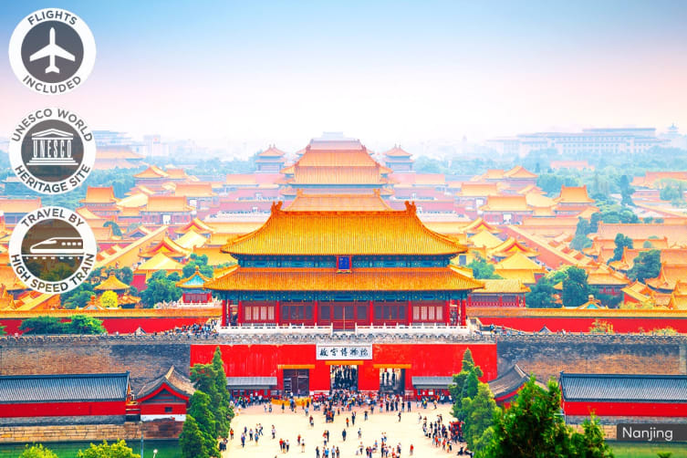 CHINA: 9 Day China Tour Including Flights for Three (Standard)